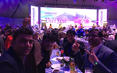Team IBN VISITING CLOUDFEST-2018 @ Germany